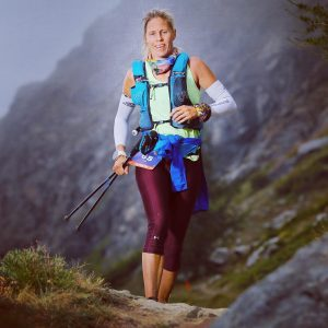 Linn Erixon Sahlström continues her journey in the Ultra Tour Monte Rosa