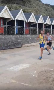 Rich Brawn in action in the BMF Supersonic 10k