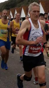 Rich Brawn and Simon Hearn in the BMF Supersonic 10k