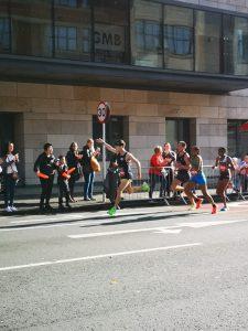 Rob McTaggart in the Cardiff Half Marathon