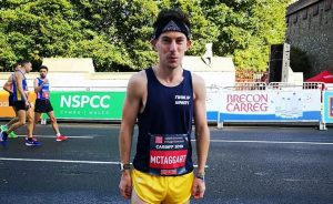 Rob McTaggart takes on the Cardiff Half Marathon