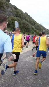 Simon Hearn and Rich Brawn in the BMF Supersonic 10k