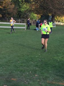 Kirsty Drewett in the Wessex League XC at Lytchett School