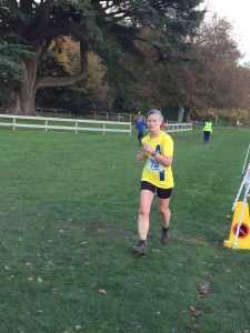 Jayne Wade in the Wessex League XC at Lytchett School