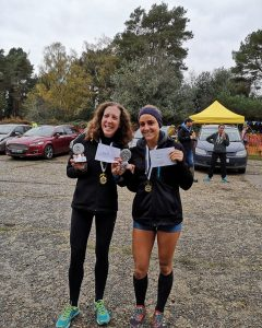 Harriet Slade finished as 2nd lady at the New Forest Stinger