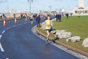 Jasper Todd in the Great South Run 5k
