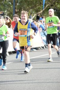 Julian Oxborough in the Great South Run