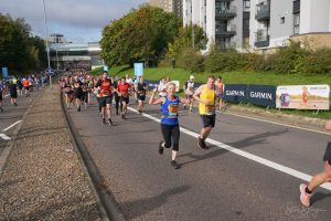 Mike White in the Great South Run