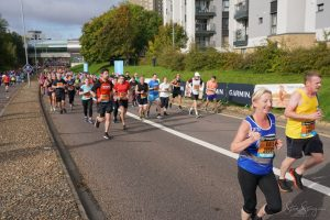 Mike White battles on in the Great South Run