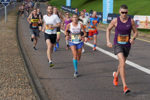 Paul Consani cruises along in the Great South Run