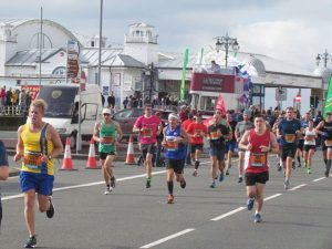 Phil Cherrett in the Great South Run
