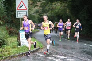 Stu Nicholas in the Eden Project Marathon