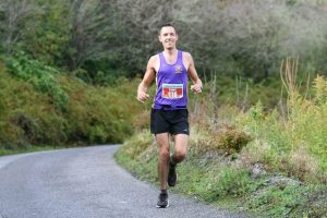 Stu Nicholas taking on the Eden Project Marathon