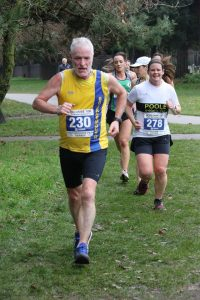 Andy Gillespie in the Boscombe 10k