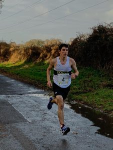 Chris Alborough in the Christmas 10k