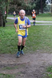 Dave Parsons in the Boscombe 10k