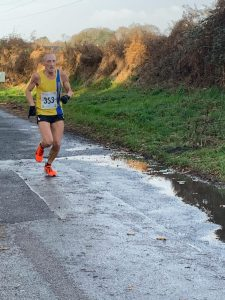 Graeme Miller in the Christmas 10k