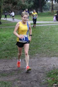 Helen Ambrosen in the Boscombe 10k