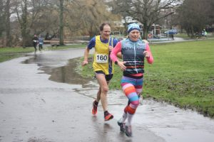 Jud Kirk gets stuck in at Round the Lakes