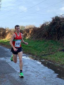 Lee Dempster in the Christmas 10k