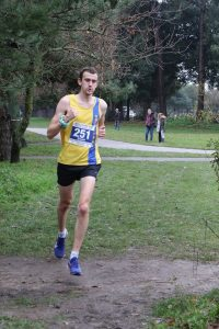 Mitch Griffiths in the Boscombe 10k