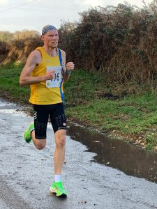 Rob Spencer in the Christchurch Christmas 10k