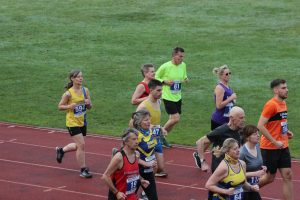 Steve Parsons and Jayne Wade in the Boscombe 10k