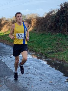 Stu Nicholas taking on the Christmas 10k