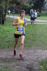 Tamzin Petersen in the Boscombe 10k