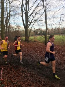 Simon Hearn in the in the Hampshire League Cross Country at Aldershot