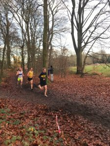 Jacek Cieluszecki in the Hampshire League Cross Country at Aldershot