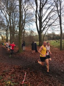 Jonathan Matthews in the Hampshire League Cross Country at Aldershot