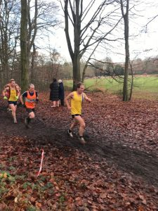 Jud Kirk in the Hampshire League Cross Country at Aldershot