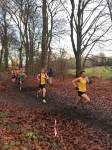 Craig Palmer in the Hampshire League Cross Country at Aldershot