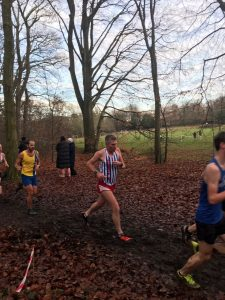 Richard Brawn in the Hampshire League Cross Country at Aldershot