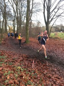 Alan Lewis in the Hampshire League Cross Country at Aldershot