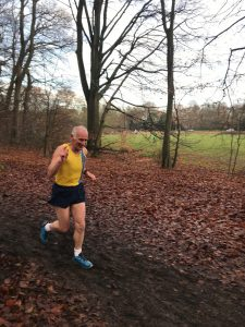 Ian Graham in the Hampshire League Cross Country at Aldershot