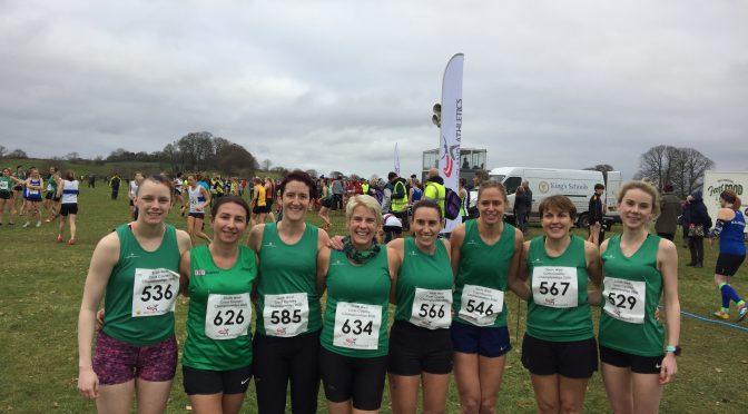 Dorset senior women's team for the South West Inter Counties