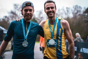 Chris Phelan-Heath with Sam Davis Maverick New Forest
