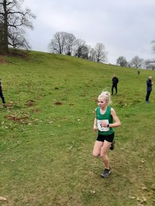 Emily Coltman in the South West XC Champs