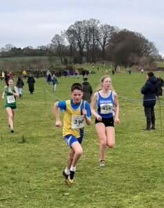 Louie Todd in the South West XC Champs