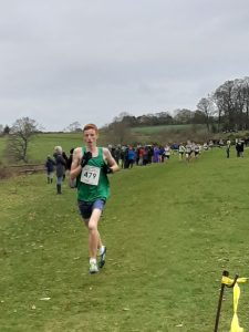 Oliver James in the South West XC Champs