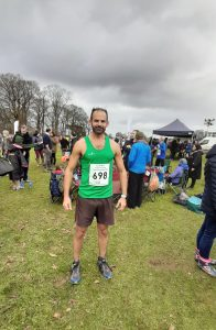 Rich Brawn at the South West XC Champs