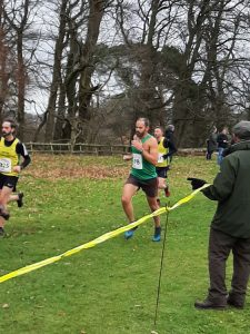 Rich Brawn running in the South West XC Champs