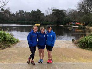 Caroline, Louise and Nikki at the Hope Rising Tyrrell Trail Run