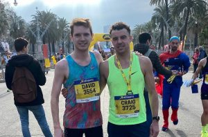 Dave Long and Craig Palmer hit the Barcelona Half Marathon