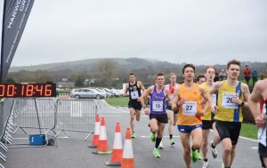 Dave Long in the Chichester 10k