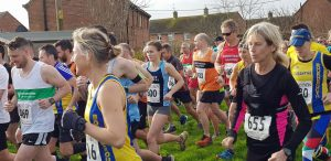 Estelle, Sam and Tamzin in the Blackmore Vale Half Marathon