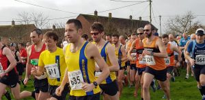 Jacek, Stu and Toby in the Blackmore Vale Half Marathon