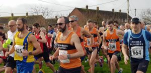 Rich Brawn in the Blackmore Vale Half Marathon